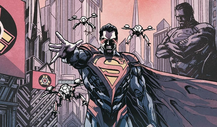 Comic Writer Grant Morrison Thinks Evil Superman Storylines are 'Ridiculous'