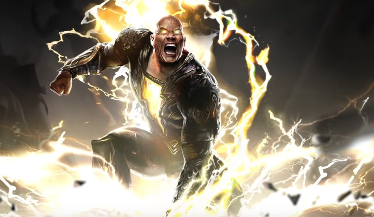 The Rock Shares New Image of Black Adam in Costume