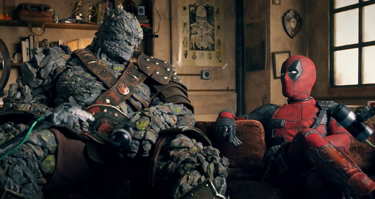 Deadpool and Korg Come Together to Promote the Release of 'Free Guy'