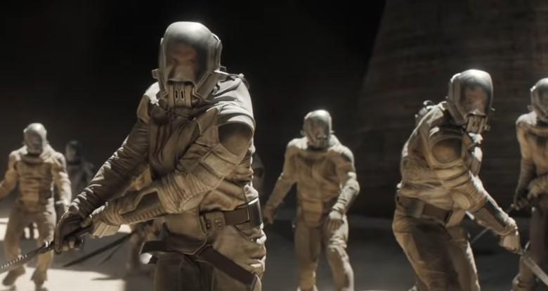 Enter Arrakis in Main Trailer for Dune