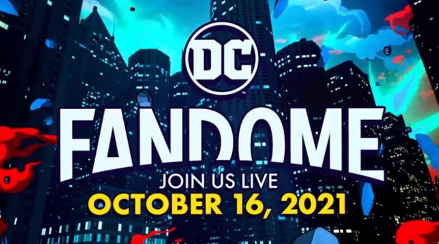 DC Officially Announces FanDome 2021