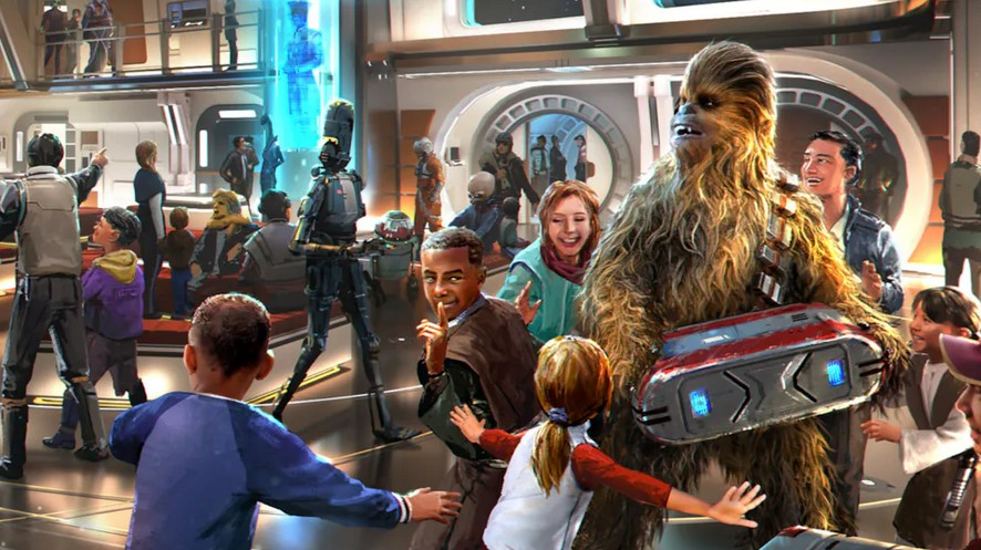 Disney Unveils Star Wars: Galactic Starcruiser for 2022