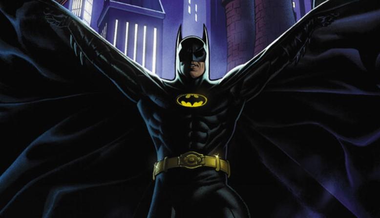 Keaton's Batman Returns in Batman '89 Comic