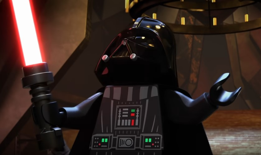 Enter Vader's Castle in LEGO Star Wars Terrifying Tales First Trailer