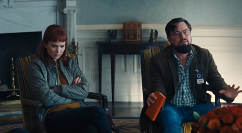Leonardo DiCaprio, Jennifer Lawrence, and More Star in First Teaser for Don't Look Up