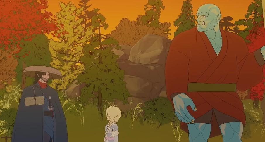 'Bright' Returns in Trailer for 'Bright: Samurai Soul'