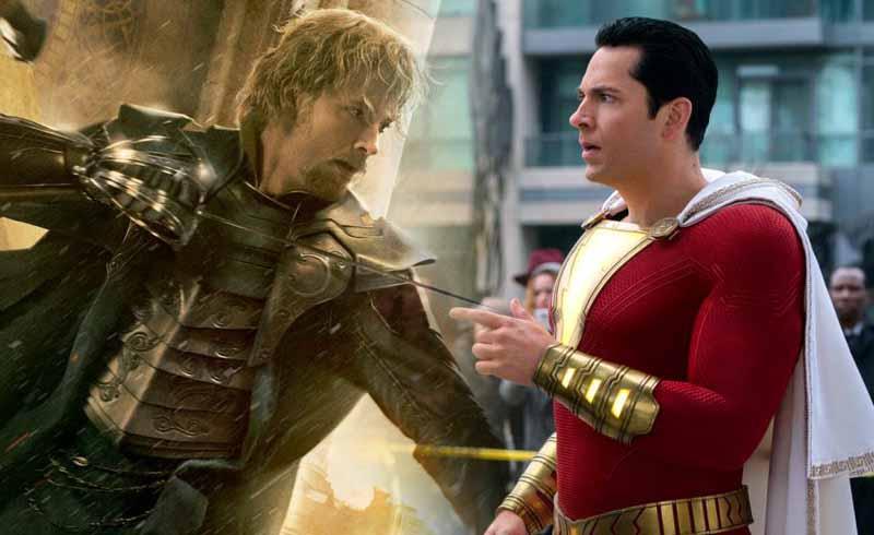 Shazam! Star Zachary Levi Reminisces Marvel's Thor Films