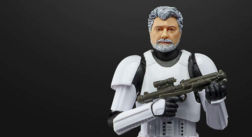 Star Wars Black Series Reveals George Lucas Stormtrooper Figure