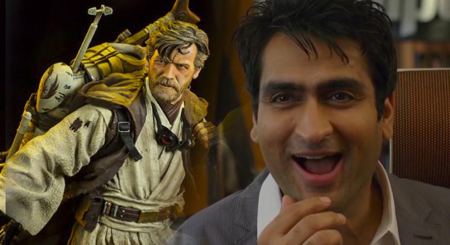 Kumail Nanjiani Teases His Obi-Wan Kenobi Role